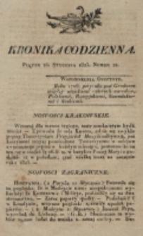 Kronika Codzienna. 1823, nr 24 (24 stycznia)
