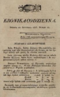 Kronika Codzienna. 1823, nr 25 (25 stycznia)