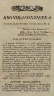 Kronika Codzienna. 1823, nr 44 (13 lutego)