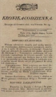 Kronika Codzienna. 1823, nr 49 (18 lutego)