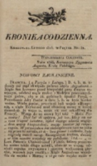 Kronika Codzienna. 1823, nr 52 (21 lutego)