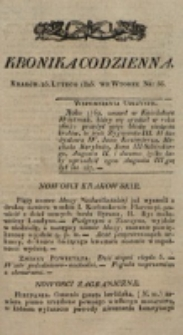 Kronika Codzienna. 1823, nr 56 (25 lutego)