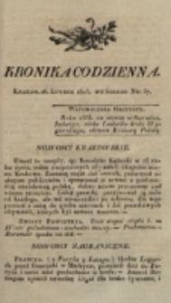 Kronika Codzienna. 1823, nr 57 (26 lutego)