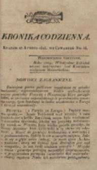 Kronika Codzienna. 1823, nr 58 (27 lutego)