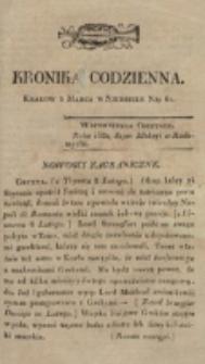 Kronika Codzienna. 1823, nr 61 (2 marca)