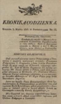 Kronika Codzienna. 1823, nr 63 (3 marca)