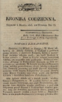 Kronika Codzienna. 1823, nr 63 (4 marca)