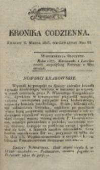 Kronika Codzienna. 1823, nr 65 (6 marca)