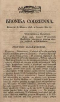 Kronika Codzienna. 1823, nr 67 (8 marca)