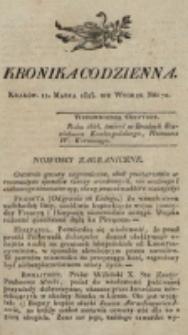 Kronika Codzienna. 1823, nr 70 (11 marca)