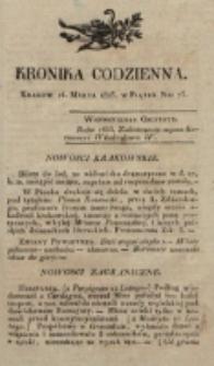 Kronika Codzienna. 1823, nr 73 (14 marca)