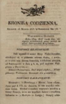 Kronika Codzienna. 1823, nr 75 (16 marca)
