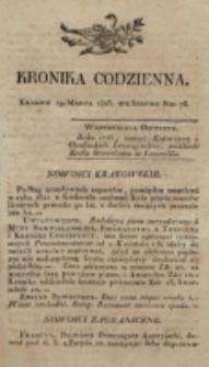 Kronika Codzienna. 1823, nr 78 (19 marca)