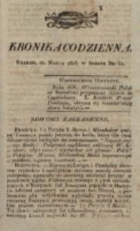 Kronika Codzienna. 1823, nr 81 (22 marca)