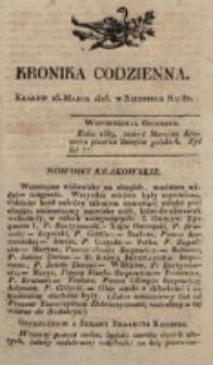 Kronika Codzienna. 1823, nr 82 (23 marca)