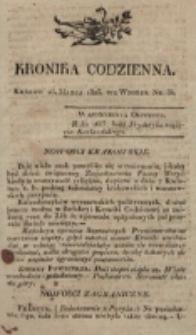 Kronika Codzienna. 1823, nr 84 (25 marca)