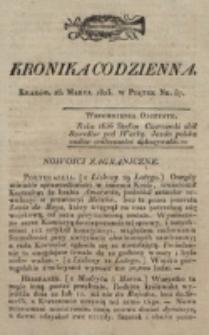 Kronika Codzienna. 1823, nr 87 (28 marca)