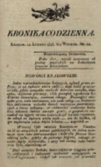 Kronika Codzienna. 1823, nr 42 (11 lutego)