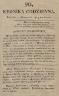 Kronika Codzienna. 1823, nr 90 (2 kwietnia)