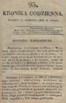 Kronika Codzienna. 1823, nr 93 (5 kwietnia)