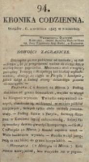 Kronika Codzienna. 1823, nr 94 (6 kwietnia)
