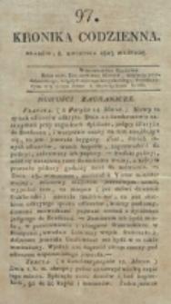 Kronika Codzienna. 1823, nr 97 (8 [!] kwietnia)