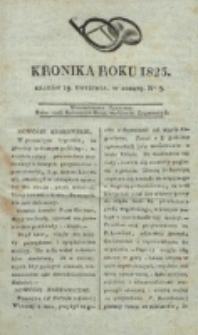 Kronika Roku 1823, nr 3