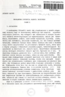 Problemowa koncepcja badania naukowego. Cz. 1 / Zygmunt Hajduk.