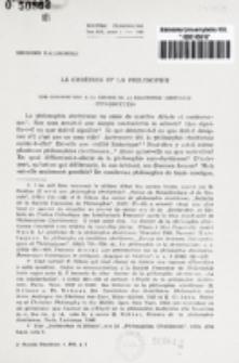 Le chrétien et la philosophie : une contribution a la theorie de la philosophie chretienne : introduction / Georges Kalinowski.