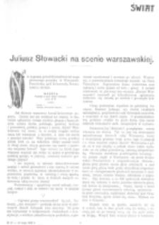 Świat : [pismo tygodniowe ilustrowane poświęcone życiu społecznemu, literaturze i sztuce. R. 1 (1906), nr 19 (12 maja)