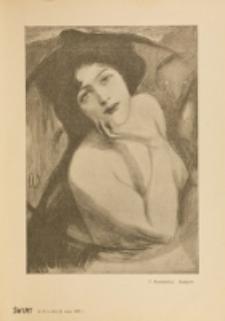 Świat : [pismo tygodniowe ilustrowane poświęcone życiu społecznemu, literaturze i sztuce. R. 2 (1907), nr 21 (25 maja)