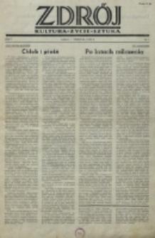 Zdrój : kultura - życie - sztuka. R. 1, nr 1 (1 września 1945)