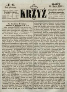 Krzyż. R. 1 (1865), nr 47