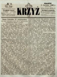 Krzyż. R. 2 (1866), nr 5