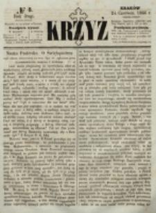 Krzyż. R. 2 (1866), nr 8