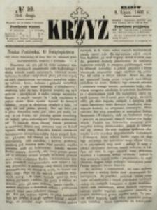 Krzyż. R. 2 (1866), nr 10