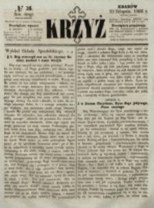 Krzyż. R. 2 (1866), nr 16