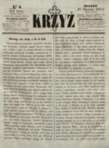 Krzyż. R. 3 (1867), nr 4
