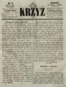 Krzyż. R. 3 (1867), nr 5