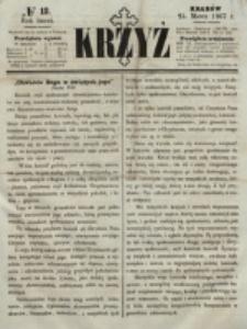 Krzyż. R. 3 (1867), nr 12