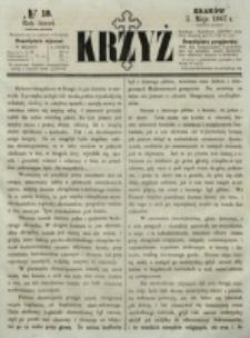 Krzyż. R. 3 (1867), nr 18