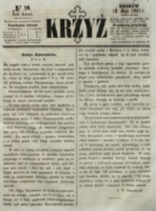 Krzyż. R. 3 (1867), nr 19