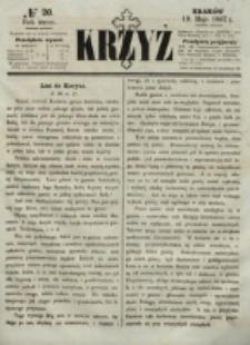 Krzyż. R. 3 (1867), nr 20