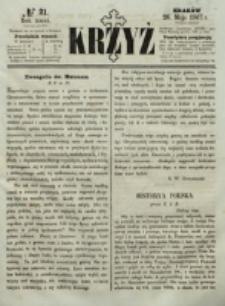 Krzyż. R. 3 (1867), nr 21