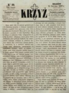 Krzyż. R. 3 (1867), nr 22