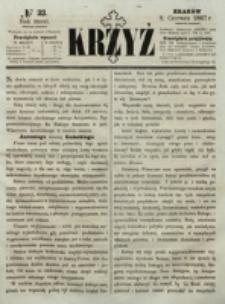 Krzyż. R. 3 (1867), nr 23