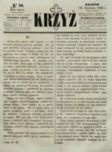 Krzyż. R. 3 (1867), nr 24