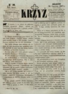 Krzyż. R. 3 (1867), nr 26