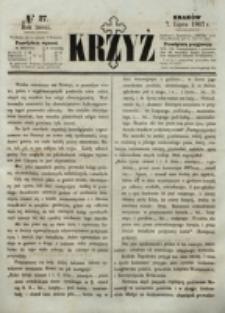 Krzyż. R. 3 (1867), nr 27