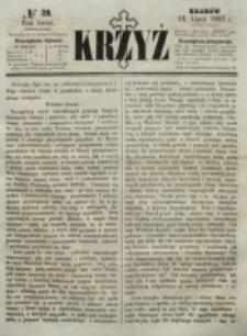 Krzyż. R. 3 (1867), nr 28